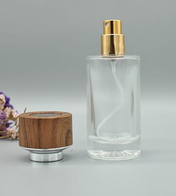 glass brand perfume bottle